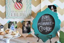 Graduation party ideas / by Heather Clark