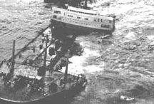 Mareas negras / Oil slicks / Historia de las mareas negras / Oil slicks history