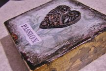 Bella Donna Design - ART / Paintings, mixed media, decoupage.  I create all sorts