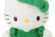 Hello kitty verte