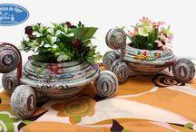 broasca cu flori