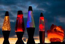 Lava lamps / Different lava lamps! C: