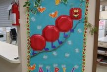 April bulletin board / This page has a lot of free April bulletin board for kids,parents and preschool teachers.