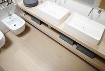 bathroom / inspirace pro řešení koupelny