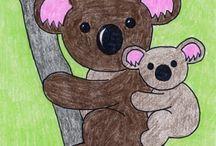 animal art for kids