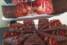 Vişneli zebra kek