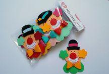 Festa Circo / A diversão do circo está aqui..vem conferir estes lindos produtos para decorar a sua festinha. =)