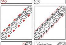 Zentangle / Zentangle ideas