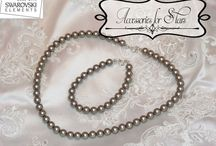 Sets of Pearls Swarovski - by Accessories for Stars / http://accessoriesforstars.blogspot.ro/ accessoriesforstars@yahoo.com accessoriesforstars@gmail.com