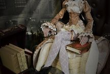Fairytales Treasures Creations / All the creations by Nekochaton and Kaominy, aka Fairytales Treasures, french doll artists. Dolls and clothes.