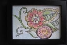 My Artwork Inspired / Some of my artwork. / by Michele Pietrzak