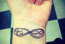 Infinity Symbol Tattoos / There are only a few tattoos that can have much meaning but still look beautiful.