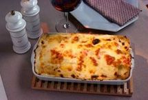 lasanha presunto e queijo