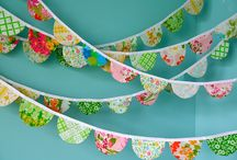 girlandy, banners, garlands, bunting