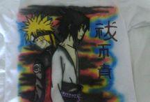 grafites / uma copia de anime no estilo grafite.
