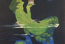 ITALIAN liquor posters