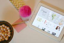 Blog Inspo / blog design inspo / by Liz Thompson
