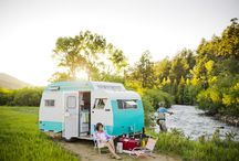 Camper Love | Trailer Trash / I love camping and have a dream of one day buying and restoring a vintage trailer - this board is my trailer candy!  ;)