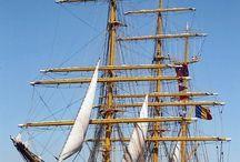 Ambarcatiuni cu vele - Sailing boats