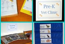 Pre-k Housekeeping Center  / by Cyndi Anderson