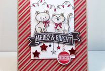 Pretty Kitty/ Bella and Friends Stampin Up