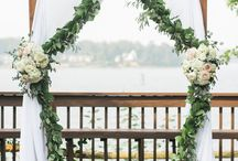 Event Flowers : Arbors, Arches, and Chuppahs
