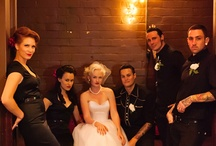 Rock'n'roll wedding inspiration