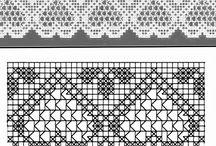 Háčkované bordury