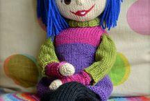 HANDMADE DOLLS / Knitted, crocheted,sewed and others techniques handmade unique and beautiful dolls