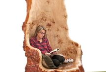 log furniture