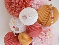 Parrrty / pretty decorations to make your party stand out!