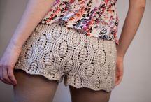 Crochet short love it .... / varias ideias....