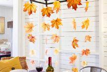 Thanksgiving/Fall Deco ideas