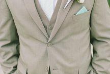 Groom Fashion / Ideen zum Wedding Dress und Accessoires für den Bräutigam