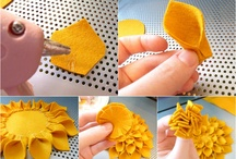DIY - Textil flowers