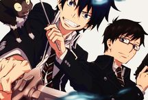 Aoi no exorcist!!