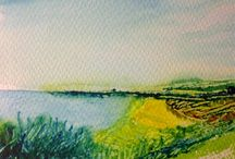 Summer Seascapes and Landscapes Watercolour Competition