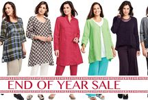 End Of Year Sale / Shop our End of Year SALE at FgClothing.co Save 10% to 70% Off on select brands thru 12-31-16. Save up to 25% Off FLAX 2016! Save up to 40% Off ALL FLAX 2015 Collections! Save up to 70% Off Jeanne d'Arc Clothing & Surrealist USA Clothing! Save up to 60% Off Sleevey Wonders, Wallaroo Hats & all purses! Save up to 50% Off All FLAX 2014 Clothing! Save up to 30% Off Match Point Clothing & Ficklesticks! Save up to 10% Off Nikibiki! While Supplies Last.
