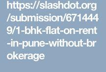 1BHK/1RK Flats On Rent in Pune-Nobroker