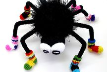 crochet spiders