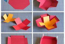 exploding box for birthday ideas