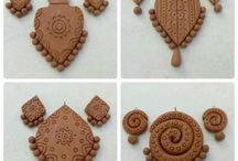 Terracota jewellary designs