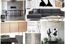 Design Boards / Designové koláže