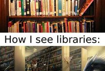 Library Humor / All the funny things.