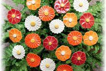 Töpfern Blumen und Blüten