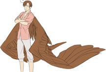 Hetalia with wings