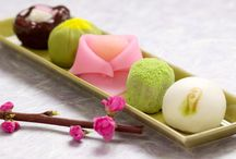 Japanese - style confectionery / One of Japanese traditional culture.
