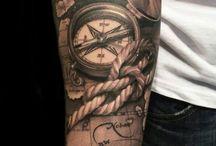 Fantastiska tatueringar