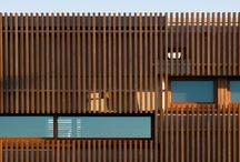 Vertical timber facade options