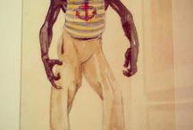 """Выставка """"Прорыв. Русское театрально-декорационное искусство"""" / Были на """"Прорыве"""" в музее Бахрушина. Вот уж, правда, как вы лодку назовете... Выставка эта, действительно, - прорыв, прорыв Музея Бахрушина! Самая удачная выставка за последние несколько лет. Масса шикарных экспонатов, начиная от самых известных Бенуа, кончая авангардом и всякими экспериментами. Здесь лишь малая толика. То, что особо понравилось. И то, что хоть как-то прилично получилось...:)"""